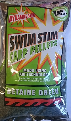 Betaine Green Pellets 900g